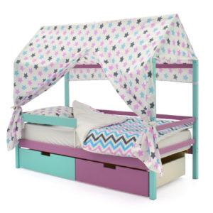 Кровати-домики из массива